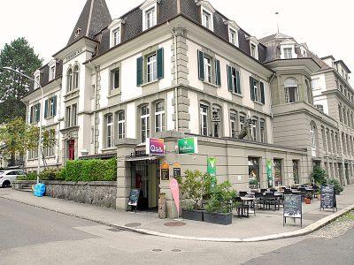 Die Behandlungsräume befinden sich in der Quelle, Museumsstrasse 10, 3005 Bern. Foto: Wiedmer, Christian: Worb.