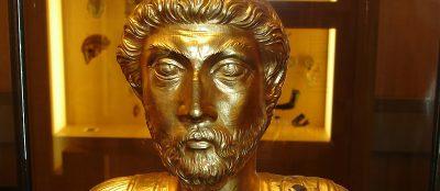 Aventicum: Ist die Goldbüste Marcus Aurelius' gefälscht? Foto: Wiedmer, Christian: Worb.