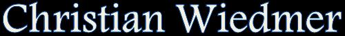 Christian Wiedmer Logo